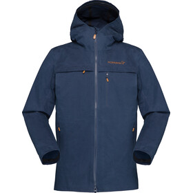 Norrøna Svalbard Cotton Jacket Dame indigo night